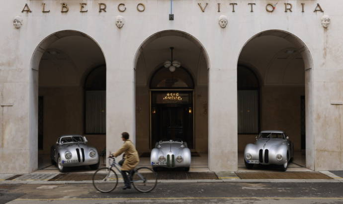 BMW 328 Touring Coupe winner at 2010 Mille Miglia