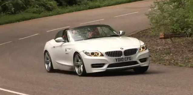 BMW Z4 35is test drive