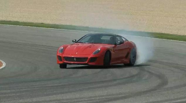 Ferrari 599 GTO review video