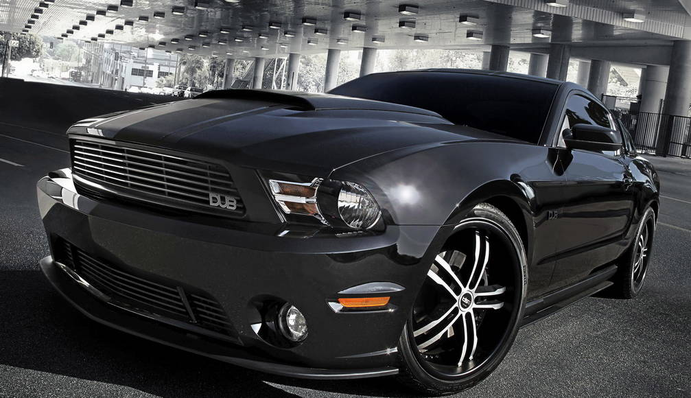 Ford Mustang DUB edition