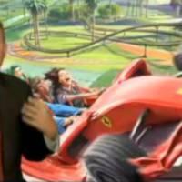 Formula Rossa Rollercoaster at Ferrari World Abu Dhabi