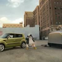 Kia Soul rapping hamsters promo