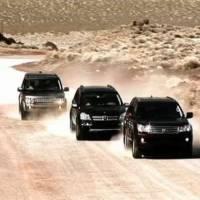 Land Rover LR4 vs Lexus GX460 vs Mercedes GL450