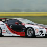 Lexus LFA and Gazoo Racing at Nurburgring 24h race