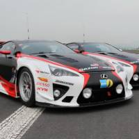 Lexus LFA and Gazoo Racing at Nurburgring 24h race