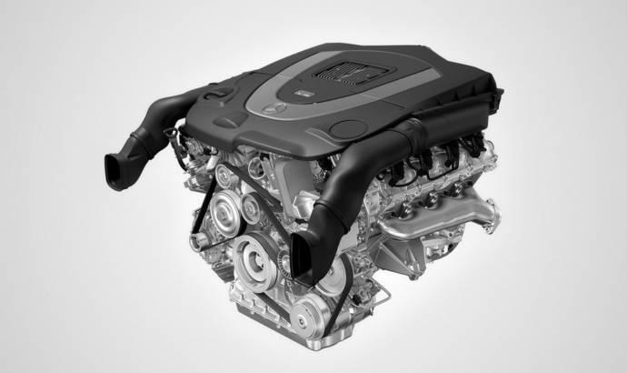New Mercedes 3.5-liter V6 and 4.6-liter V8 engines