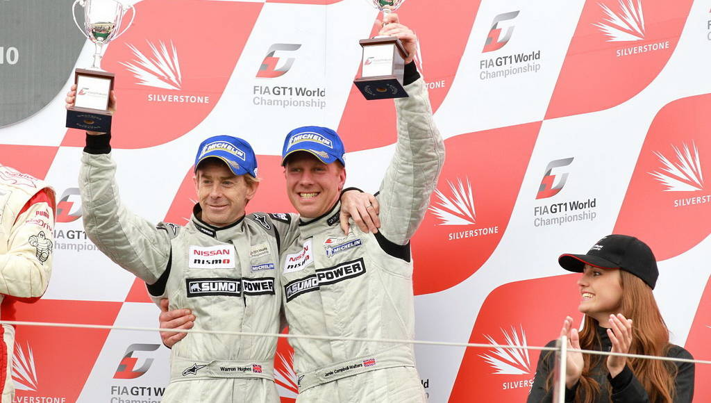 Nissan GT-R Silverstone Victory