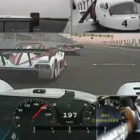 Radical SR3 racing video