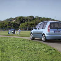 Skoda Fabia and Roomster GreenLine