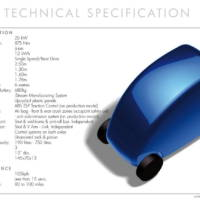 T.27 Electric City Car Specs