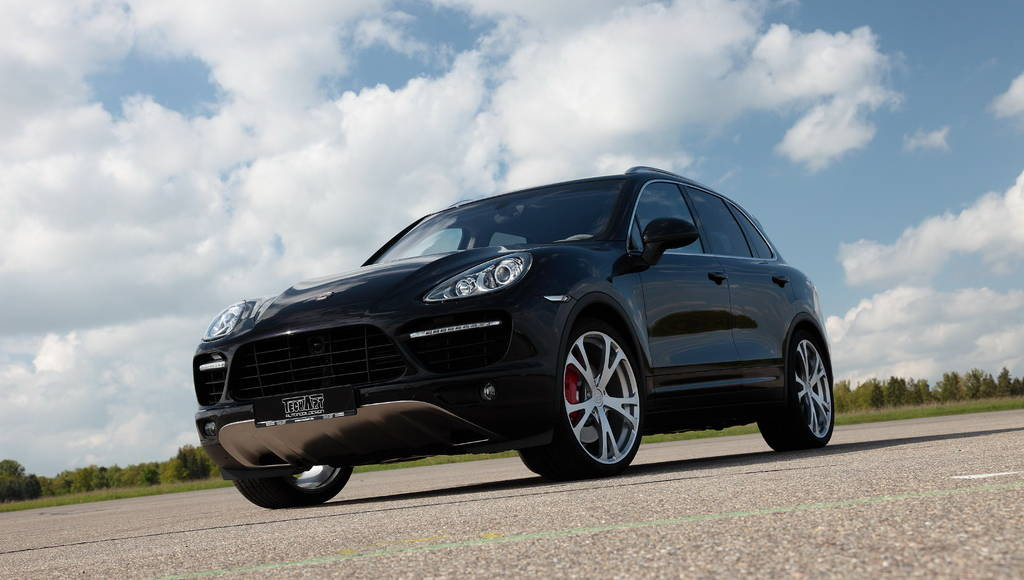 Teachart 2011 Porsche Cayenne