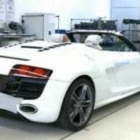 Video: 2011 Audi R8 Spyder production