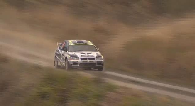 Video: Mooning Spectator Causes Rally Car Crash