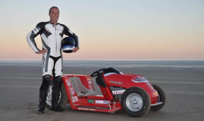 New Lawnmower Speed Record