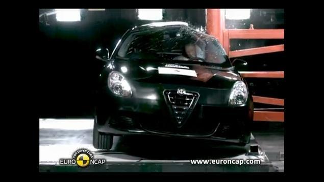 Alfa Romeo Giulietta Crash Test