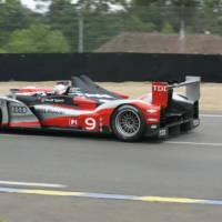 Audi R15 TDI winner at 2010 Le Mans 24h