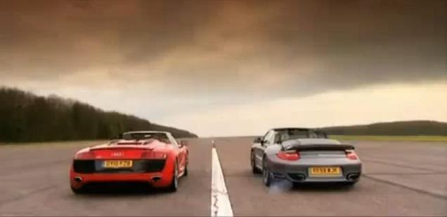 Audi R8 Spyder vs Porsche 911 Turbo Cabrio