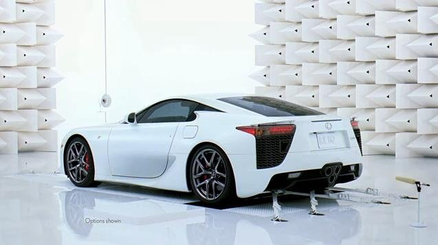 Lexus LFA Perfect Pitch Ad