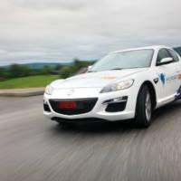 Mazda RX-8 Hydrogen RE at Le Mans into the Future