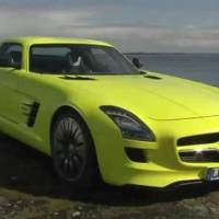 Mercedes SLS AMG E-Cell video