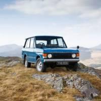 Range Rover turns 40