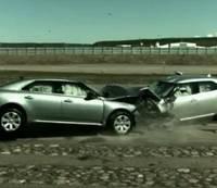 Saab 9-5 crash test video