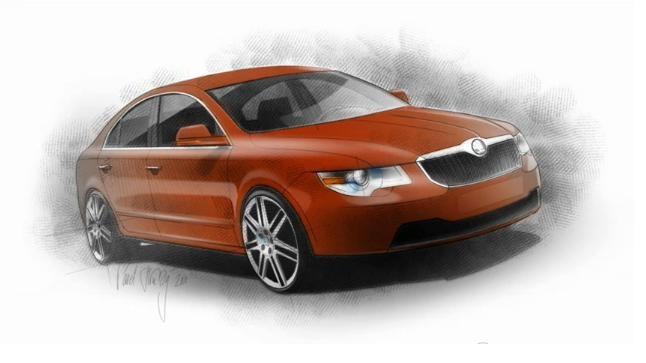 Skoda Superb Fastback Concept