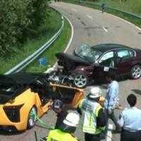 Toyota's chief test driver dies in Lexus LFA crash
