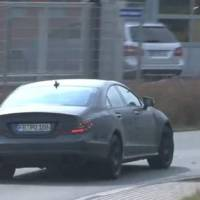 Video: 2011 Mercedes CLS AMG spied
