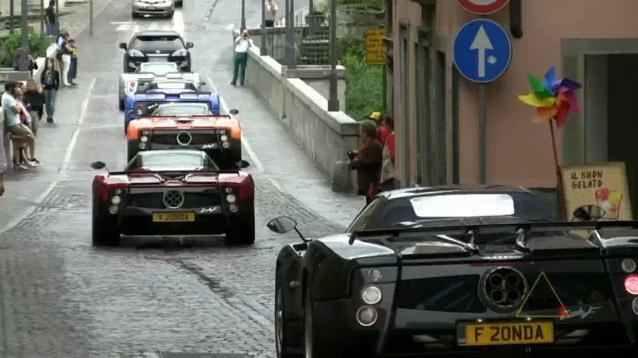 Video: Pagani Zonda meeting 2010