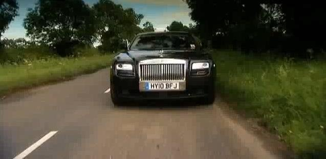 Video: Rolls Royce Ghost test drive