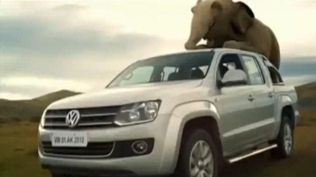 Video: Volkswagen Amarok commercial