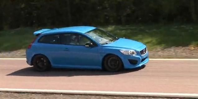 Volvo C30 Polestar test drive
