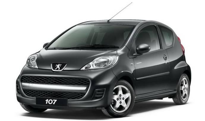 2010 Peugeot 107 Millesim
