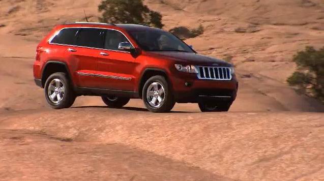 2011 Jeep Grand Cherokee presentation video