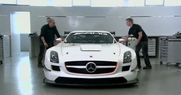 Video: 2011 Mercedes SLS AMG GT3