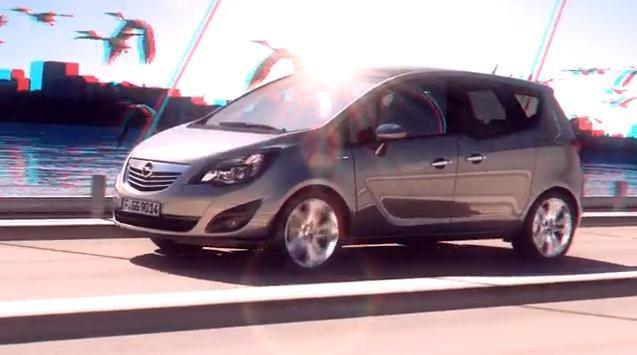 Video: Opel Meriva 3D promo