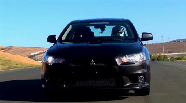 2010 Mitsubishi Lancer Evolution SE video