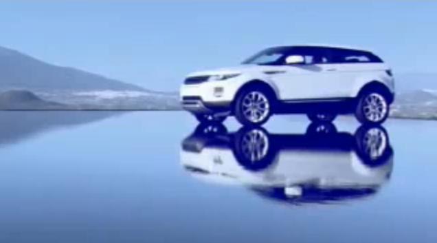 2011 Range Rover Evoque video