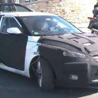 2012 Hyundai Veloster Coupe spy video