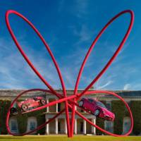 Alfa Romeo Centenary sculpture