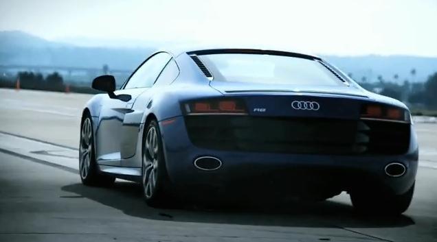 Audi R8 V10 video