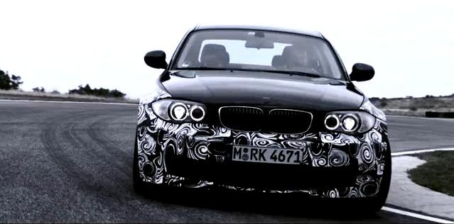 BMW 1 Series M Coupe video teaser