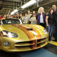 Custom Dodge Viper coupe marks end of production