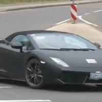 Lamborghini Gallardo Valentino Balboni Spyder spy video