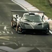 Pagani Zonda R Nurburgring Record video