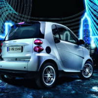 Smart ForTwo Limited Silver