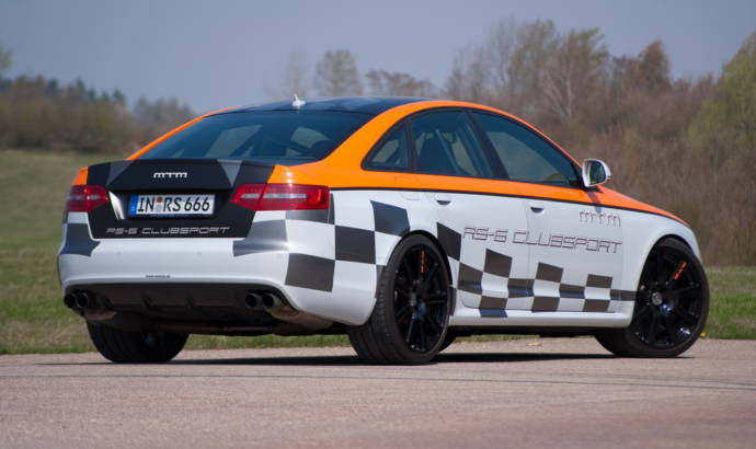 Video: MTM Audi RS6 Clubsport acceleration