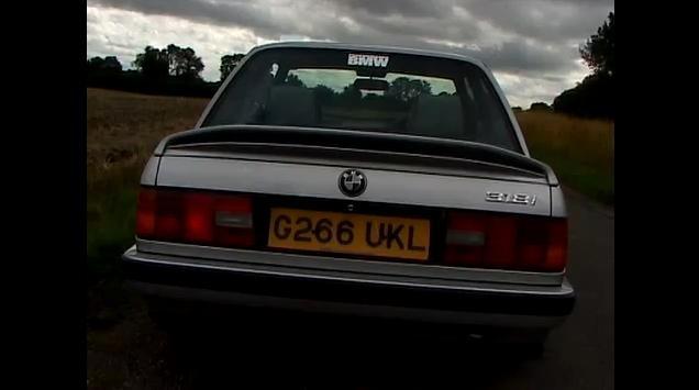 BMW E30 review video