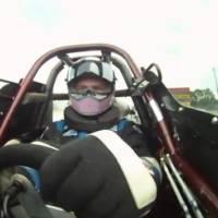 Dragster crash video